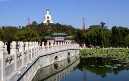 beihai park at beijing Royalty Free Stock Photography