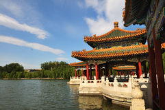 Beihai park of beijing Royalty Free Stock Image
