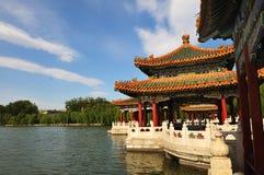 Beihai park of beijing Royalty Free Stock Image