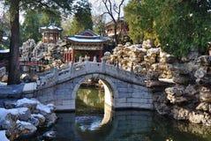 The Beihai Park ,Beijing Royalty Free Stock Photos