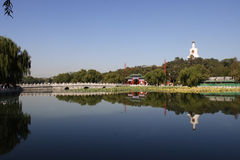 Beihai park at beijing Royalty Free Stock Images