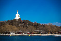 Beihai park in Beijing Stock Photography