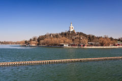 Beihai Park,Beijing, China Royalty Free Stock Image