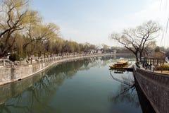 Beihai Park in Beijing China Stock Images