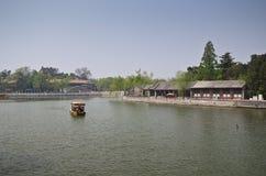 Beihai Park, Beijing. Lake in Beihai park in Beijing,China Royalty Free Stock Photo