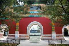 Beihai Park Beijing. North China Royalty Free Stock Photography