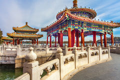 Beihai Park Beijing. North China Royalty Free Stock Photo