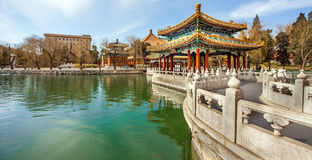 Beihai Park Beijing. North China Stock Photos