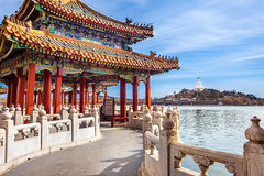 Beihai Park Beijing. North China Stock Photography