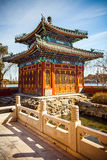 Beihai Park Beijing. North China Royalty Free Stock Photos