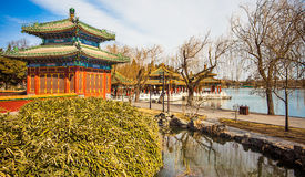 Beihai Park Beijing. North China Royalty Free Stock Images