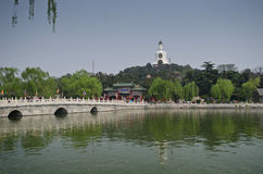 Beihai Park, Beijing Stock Images