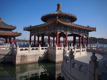 The Beihai Park Five-Dragon Pavilion,Beijing Royalty Free Stock Photos
