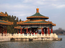 The Beihai Park Five-Dragon Pavilion,Beijing Stock Photography