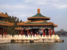 The Beihai Park Five-Dragon Pavilion,Beijing Stock Photography