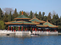 The Beihai Park Five-Dragon Pavilion,Beijing Royalty Free Stock Image