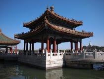 The Beihai Park Five-Dragon Pavilion,Beijing Royalty Free Stock Photo