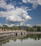 Beihai Park -- is an imperial garden in Beijing Royalty Free Stock Photos