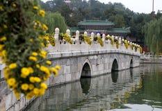 Beihai Park -- is an imperial garden in Beijing Royalty Free Stock Photo