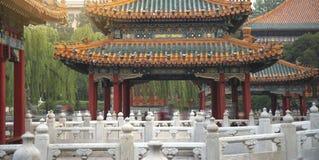 Beihai park jest cesarskim ogródem zdjęcia stock