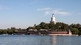 Beihai park. Is located in Beijing City, and the sea, South China Sea Branch called the three named after the sea. The total area of Beihai is 1063 mu, water Stock Images