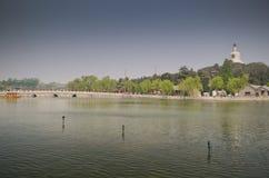Beihai park, Pekin fotografia stock