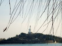 The Beihai park stock photo