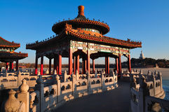 Beihai Parkowi smoka Pawilony Zdjęcia Royalty Free