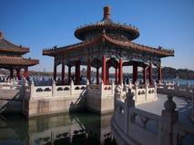 Beihai Parkowy smoka Pawilon, Pekin Zdjęcia Royalty Free