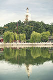 Beihai royal park in Beijing. China Royalty Free Stock Photography