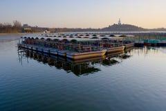 beihaibeijing park Arkivfoto