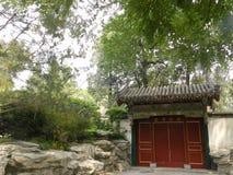 Beihaipark (in Peking) royalty-vrije stock afbeeldingen