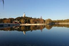Beihaipark, Peking Stock Afbeeldingen