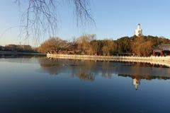 Beihaipark, Peking Royalty-vrije Stock Afbeeldingen