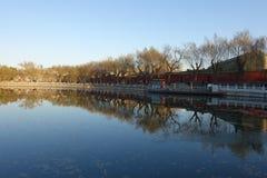 Beihaipark, Peking Royalty-vrije Stock Foto
