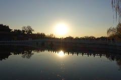 Beihaipark, Peking Royalty-vrije Stock Foto's