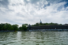 Beihei Park in Summer in Beijing, China Royalty Free Stock Images