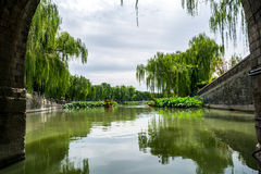 Beihei Park in Summer in Beijing, China Royalty Free Stock Image
