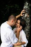 Beijando pares fotos de stock royalty free