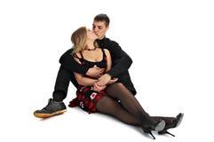 Beijando pares loving Fotos de Stock Royalty Free