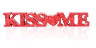 Beije-me Fotos de Stock Royalty Free