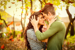 Beije-me meu amor Fotografia de Stock