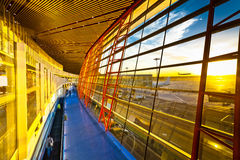 Beijin airport Royalty Free Stock Images