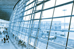 Beijin airport Stock Photo