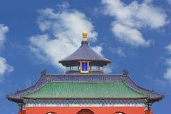 beijing świątynia porcelanowa niebiańska obrazy royalty free