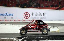 beijing 2009 kämpar för racen Royaltyfri Foto