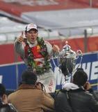 beijing 2009 kämpar för racen Arkivfoton