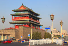 Beijing. Historical building in Beijing, China Royalty Free Stock Photography