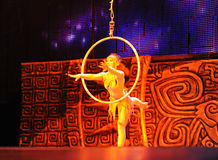 Beijing Acrobatics Troupe artist Stock Photo