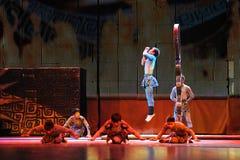 Beijing Acrobatics Troupe artists Stock Images
